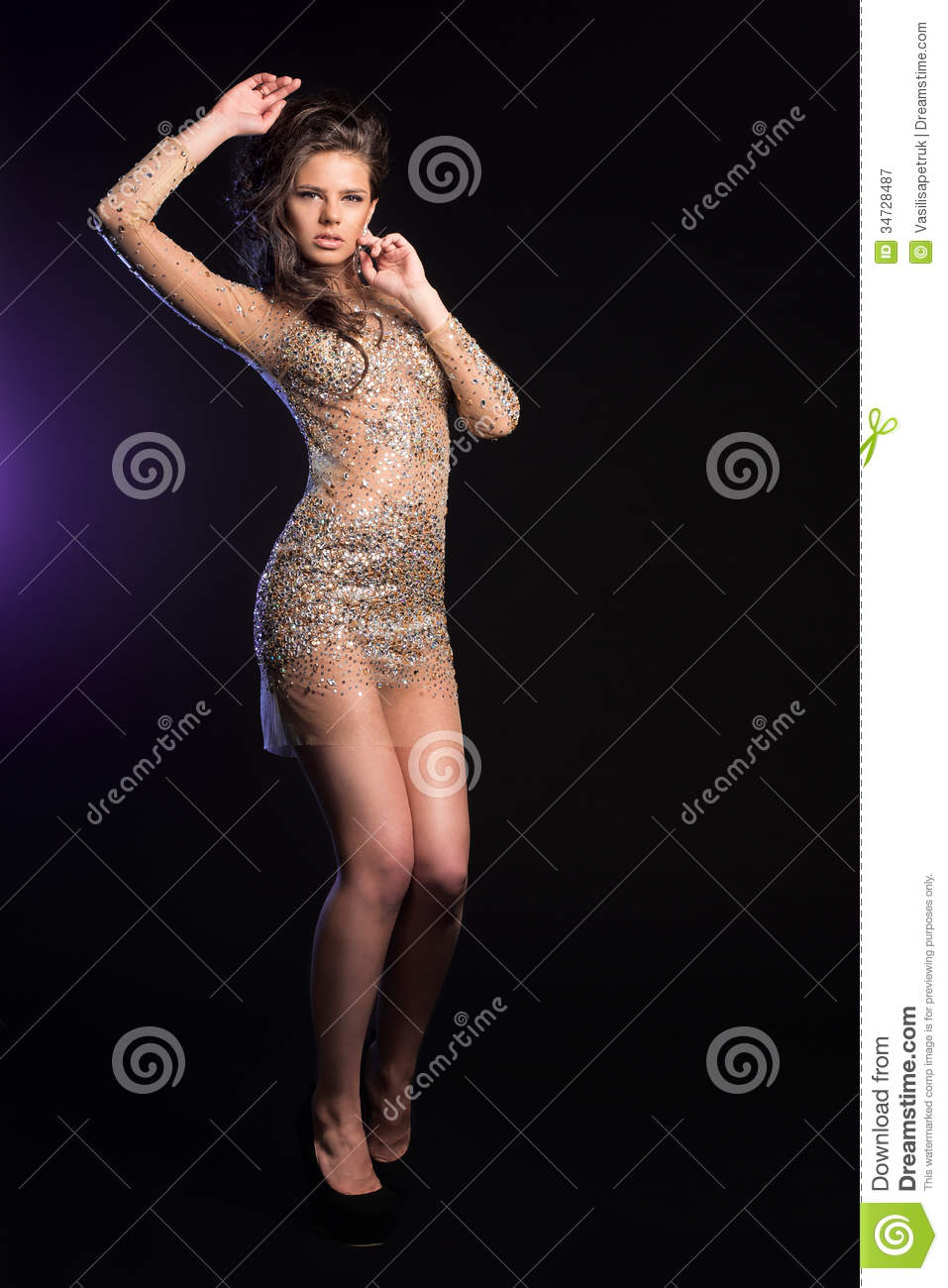 Young lady royalty free stock photography image 34728487 for A beautiful you at vesuvio salon studios