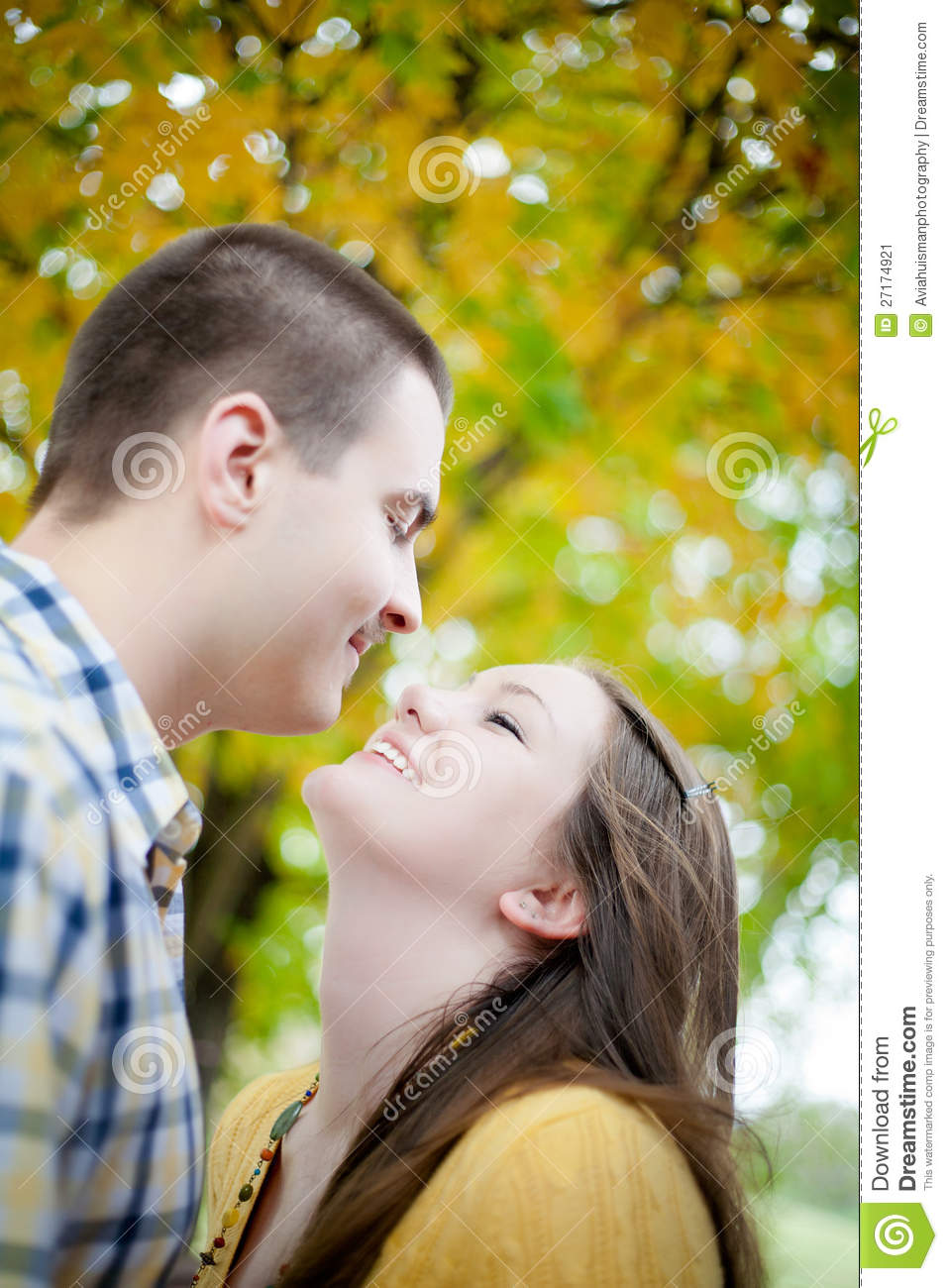 Download Young Love stock image. Image of friend, brightly, funny - 27174921
