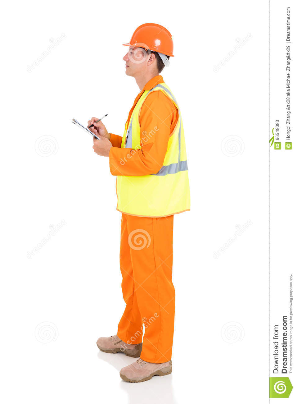 Young male electrician