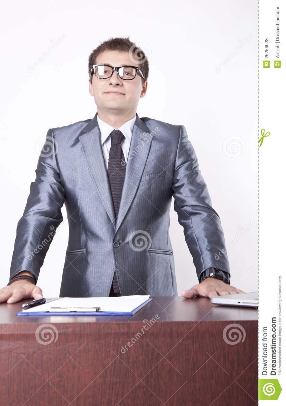 Young Male Secretary Royalty Free Stock Photos Image