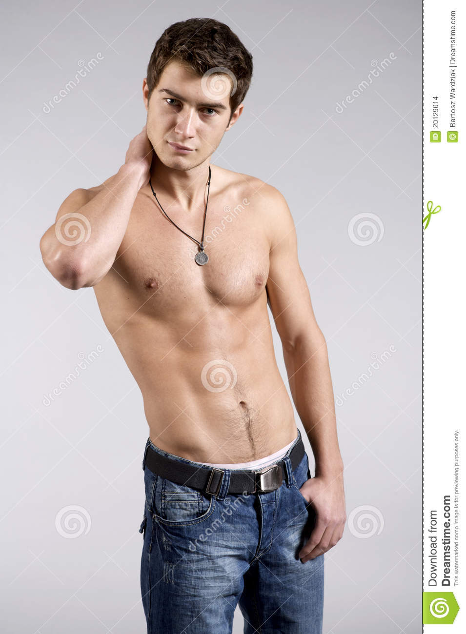 Young male underwear model stock photo. Image of model ...