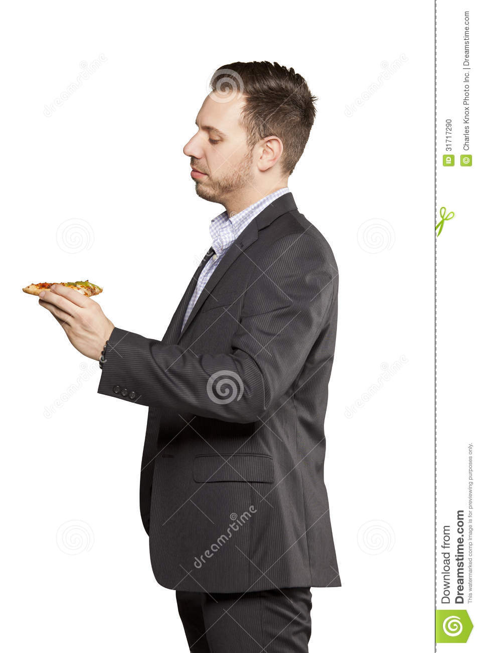 Young Man In Black Suit Stock Photo - Image: 31717290
