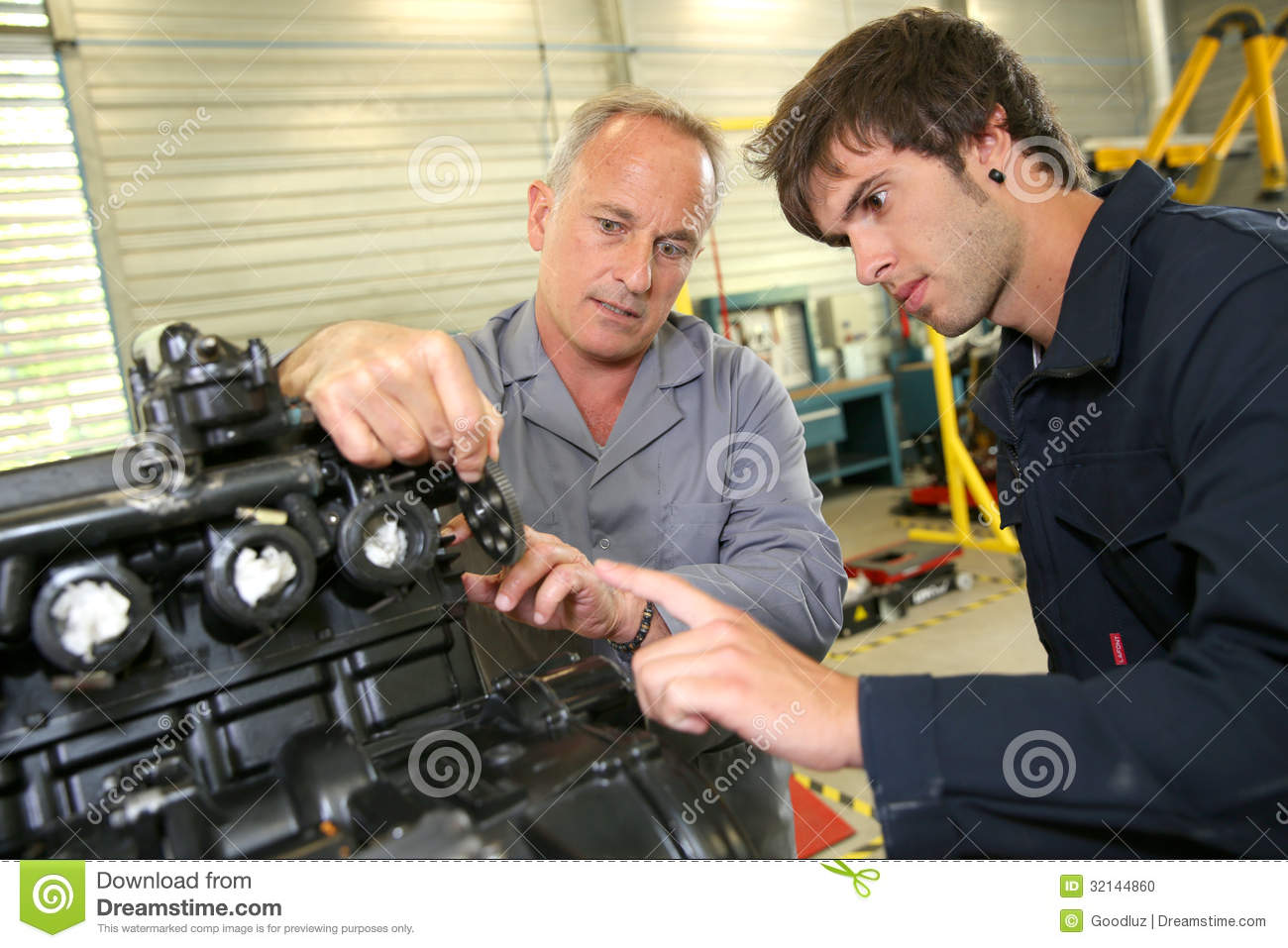 Young Man In Business Training Stock Photo - Image: 32144860