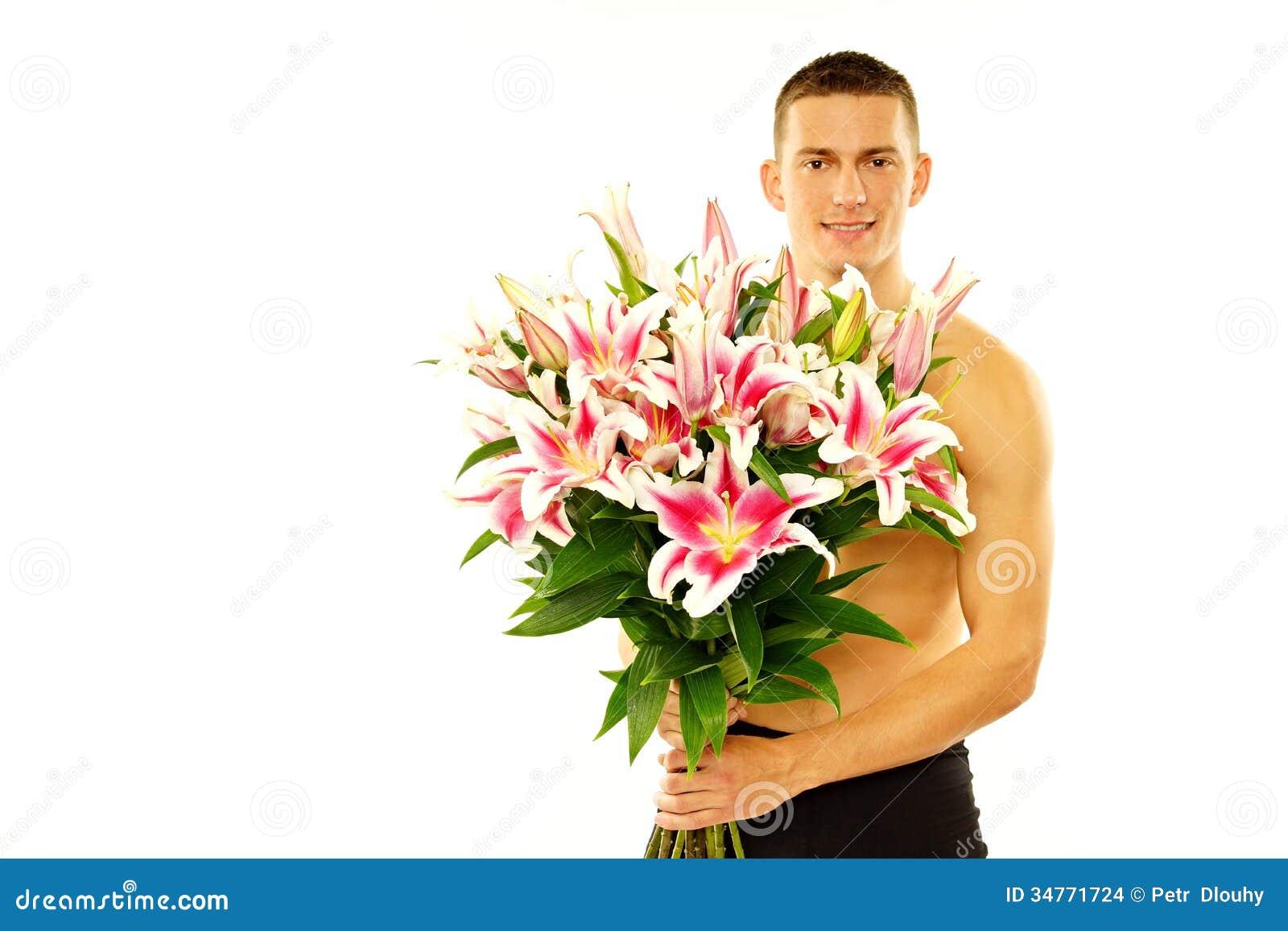 Тебе одна, голый цветок