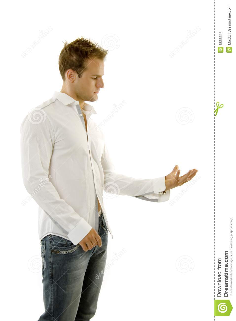 Young Man Giving Speech Royalty Free Stock Photo - Image ...
