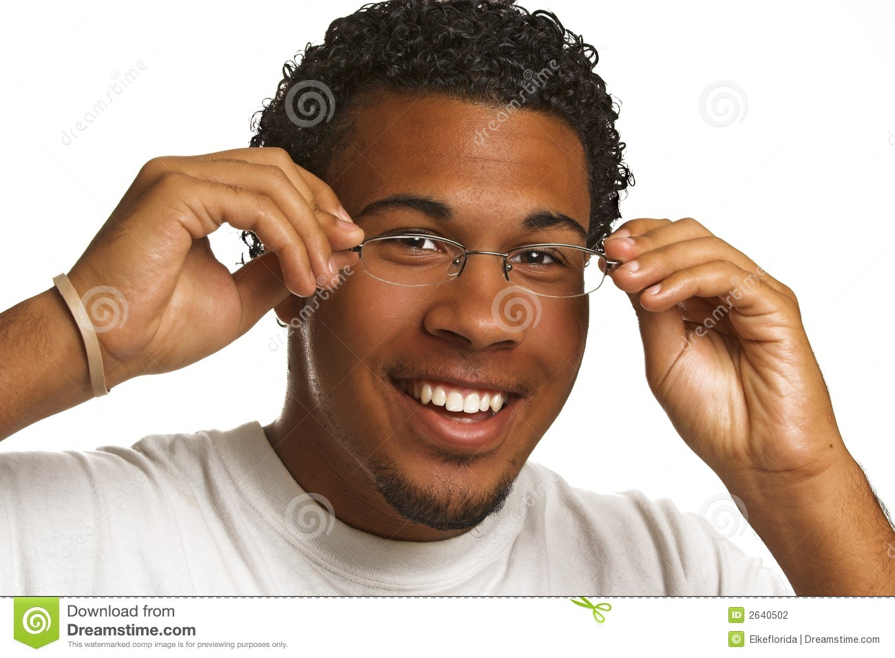 Young Man With Glasses Stock Photography - Image: 2640502