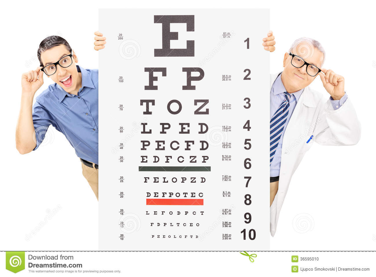how to test if you need glasses