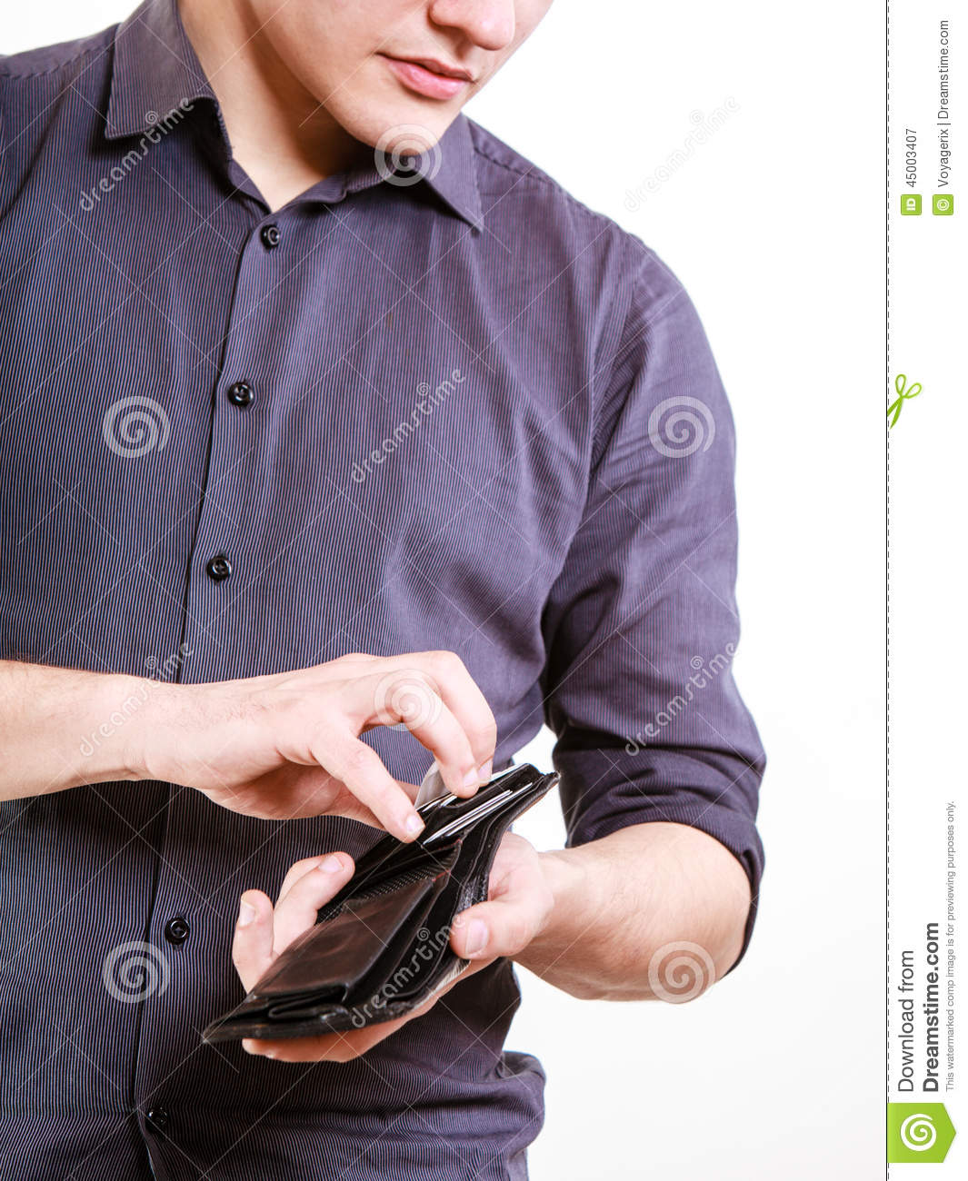 Young Man Paying By Credit Card Spending Money Finance Stock Photo Image 45003407