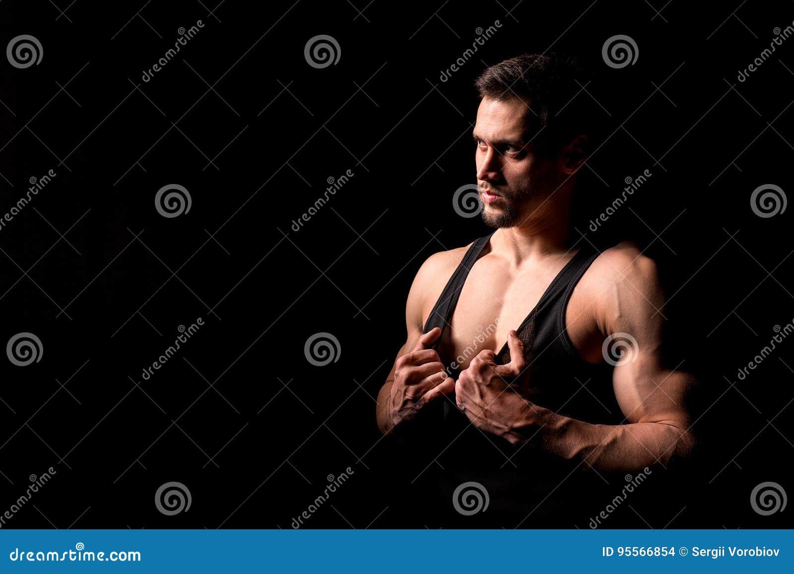 Sexy body stripping