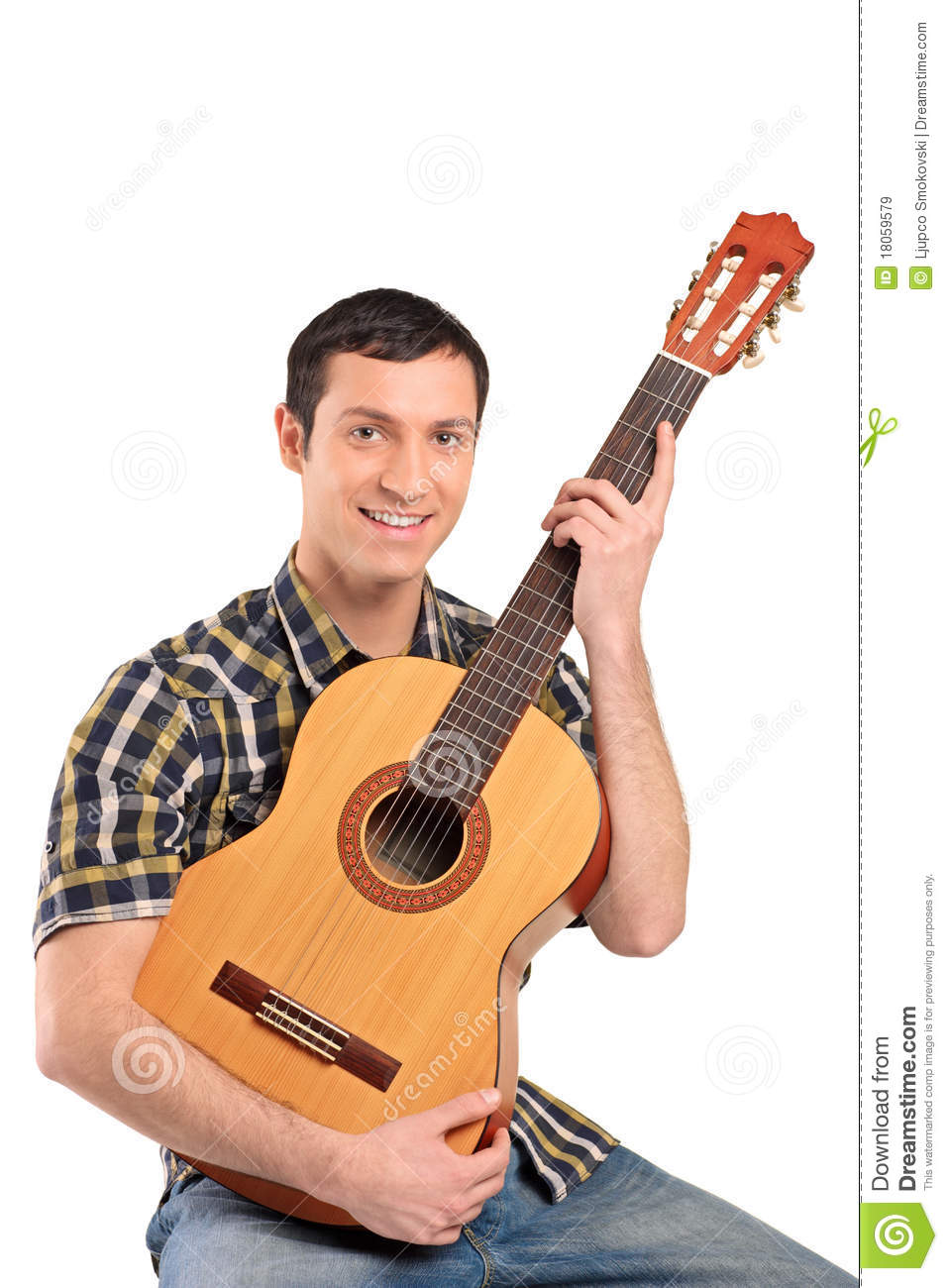 Guitar playing dude fucks a hot country girl