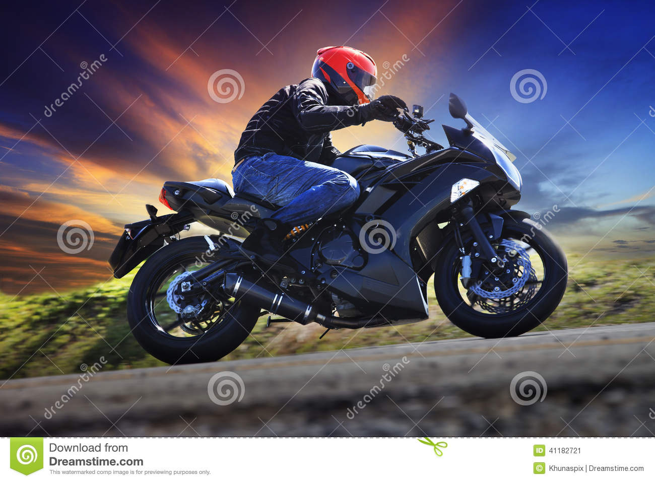 detail photo riding motorcycle country roads high stock photography