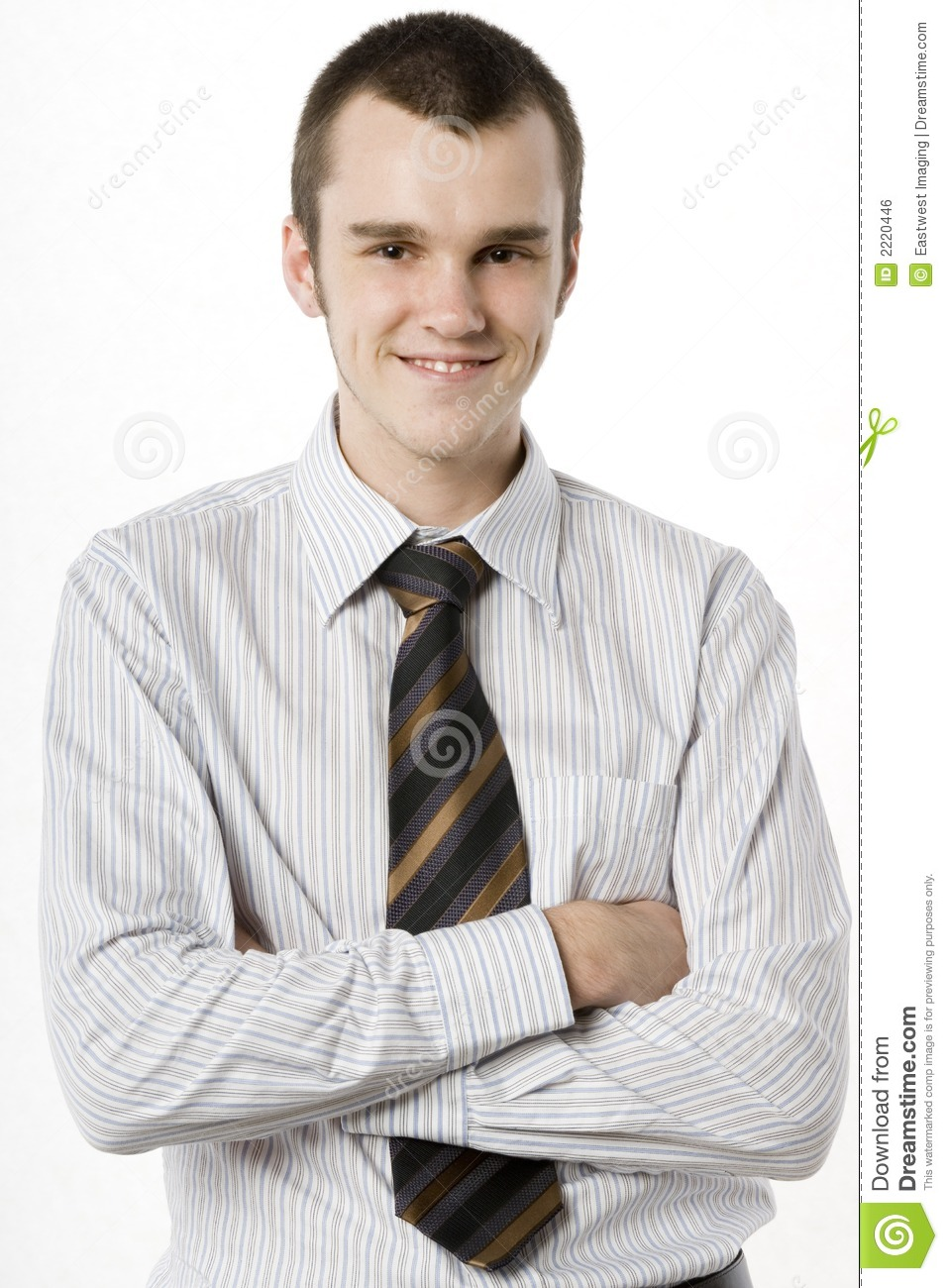 Young Man In Shirt And Tie Royalty Free Stock Image ...
