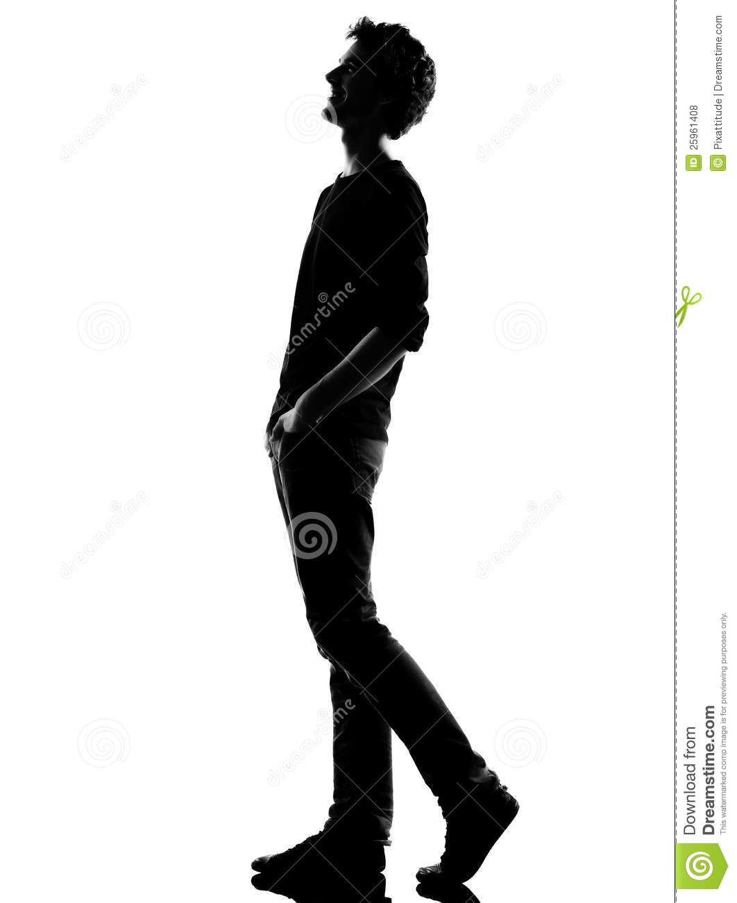 young-man-silhouette-walking-happy-laugh