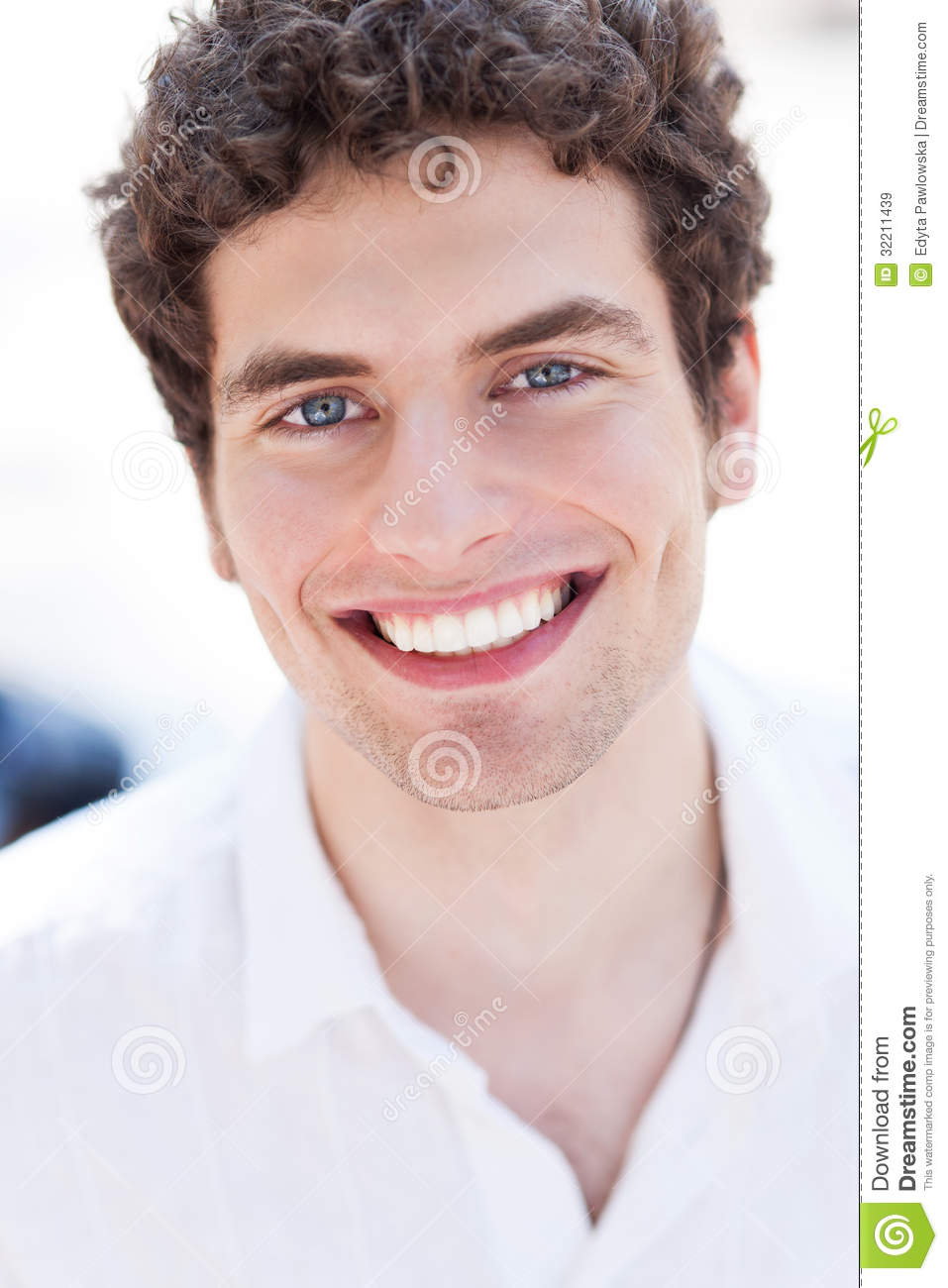 Young Man Smiling Royalty Free Stock Images Image 32211439
