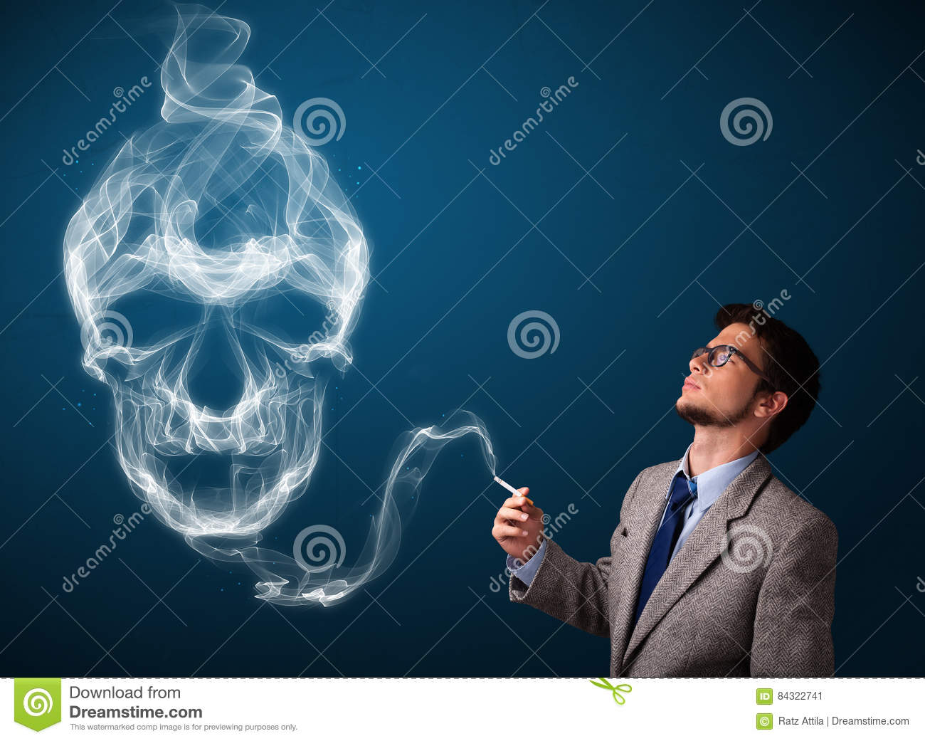 Opinion Men smoking cigarettes