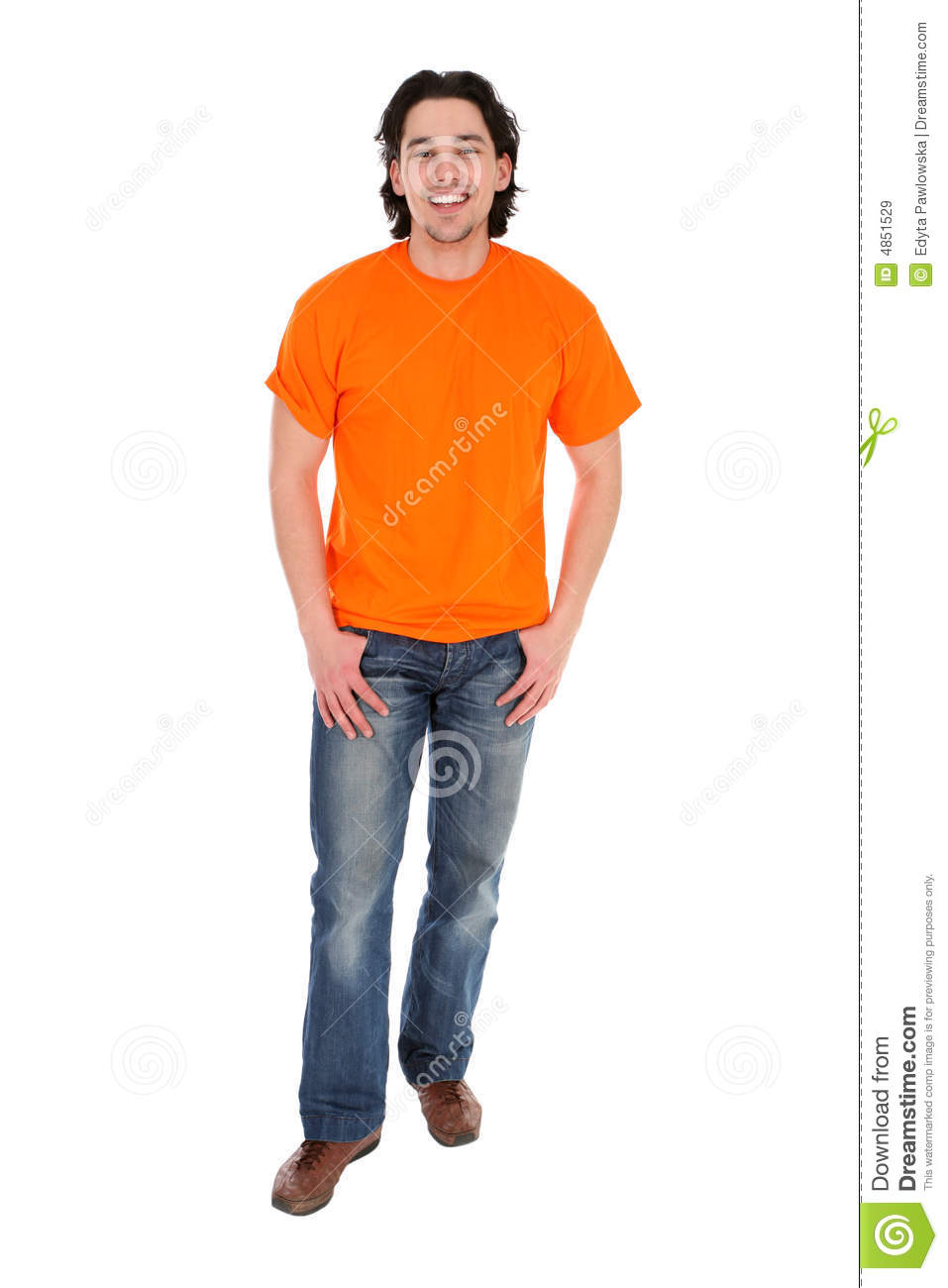 Young Man Standing Royalty Free Stock Images - Image: 4851529