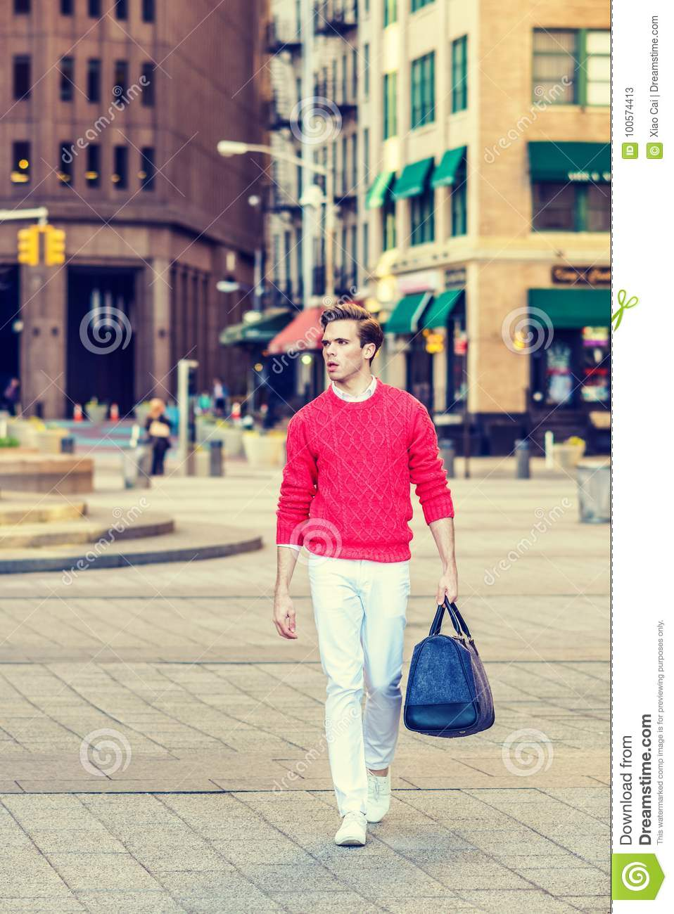 f1b4cf0971 Young Man Street Fashion stock image. Image of shoes - 100574413