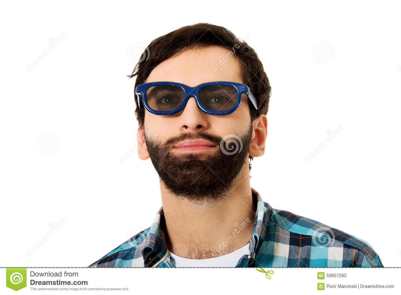 Young man with sunglasses.