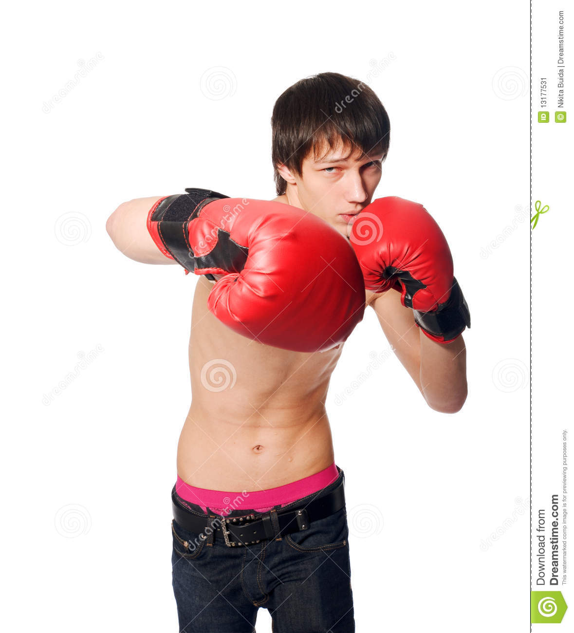 Boxing Gloves Man Wiring Diagrams With Linearregulator Current Source Circuit Diagram Tradeoficcom Young Wearing Stock Image Of Isolated Rh Dreamstime Com Manufacturers