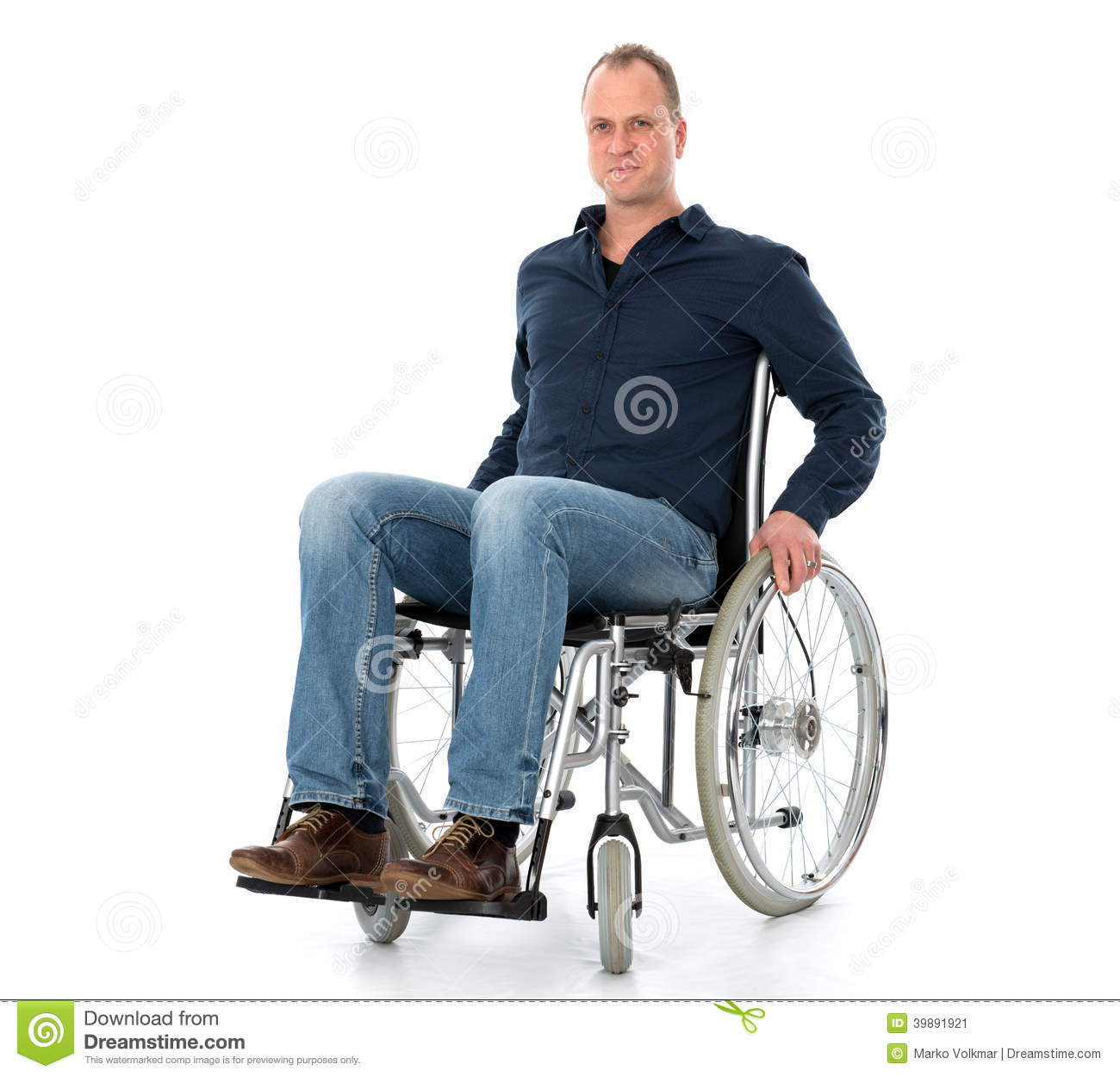 Young Man In Wheelchair Stock Photo - Image: 39891921