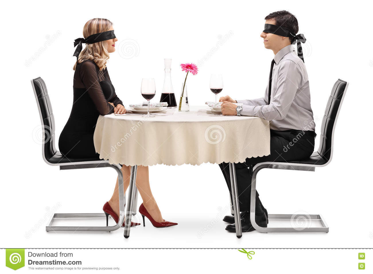 Dating a blind guy