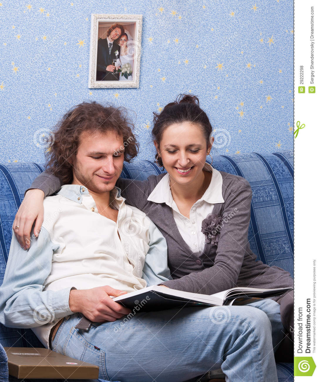 Young Married Couple Stock Photo. Image Of Couple, Hugging