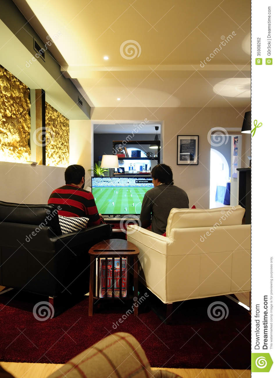Where Can I Buy German Food In England: Young Men Playing FIFA