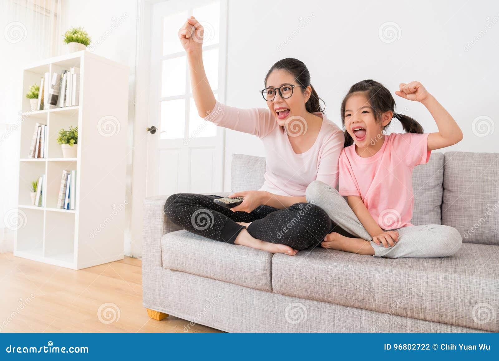 Lesbian Daughter Seduce Mom