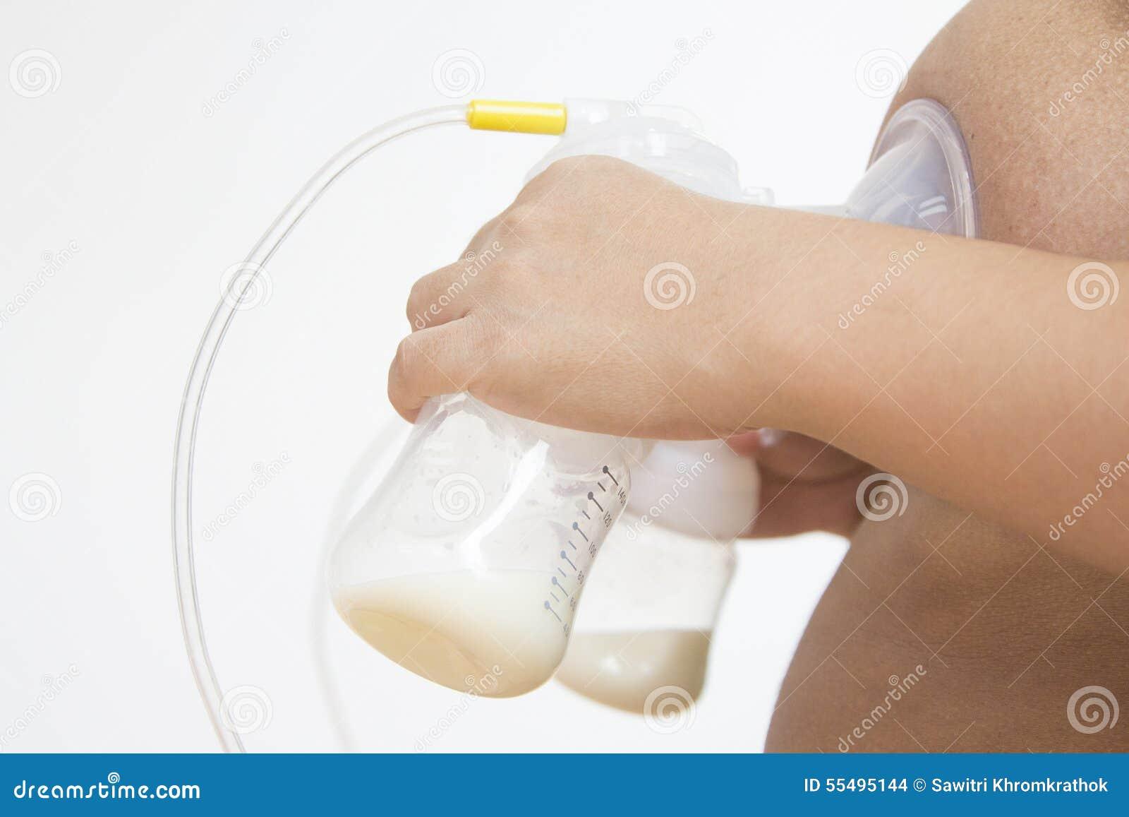 Breast milk from