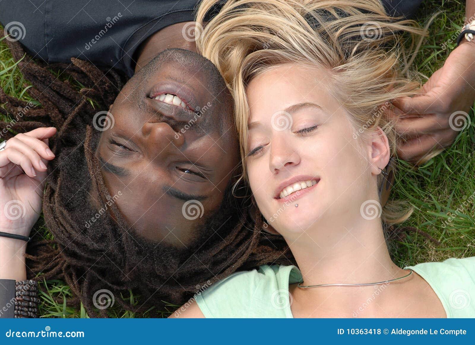 Young multi-racial couple