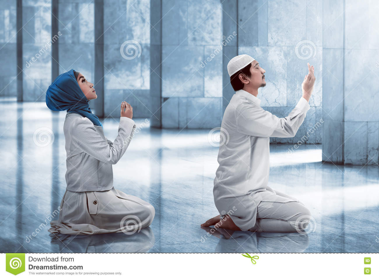 image Muslim couple first time the more you