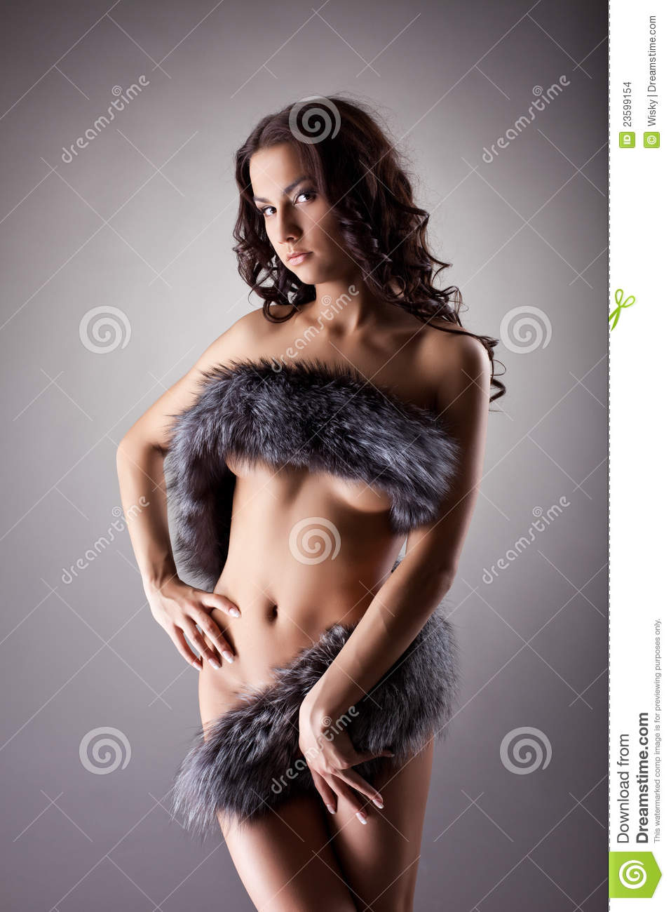 Women in fur nude have hit