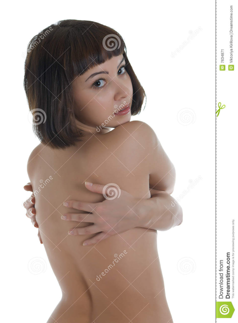 young naked women stock image. image of body, glamour - 7634871