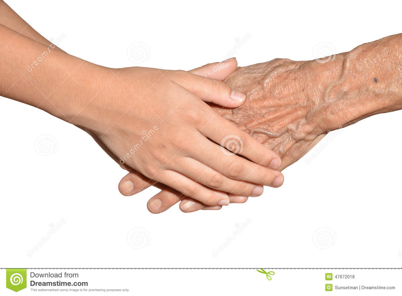 young and old hands stock photo image 47672018 Hand Clip Art Holding Hands Clip Art