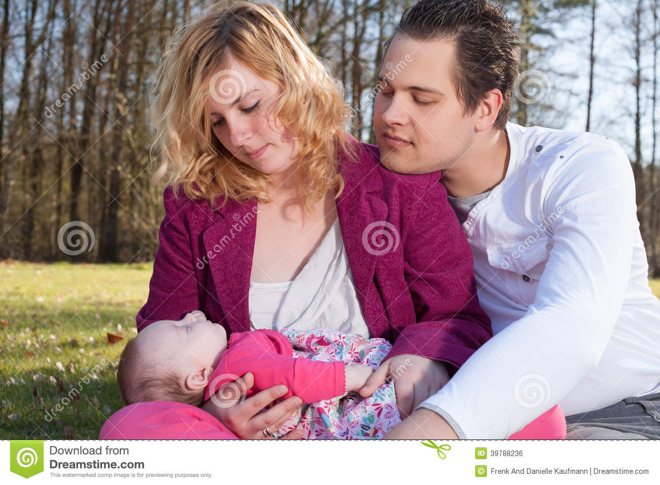 young parents caring their little baby girl stock images - 41 photos
