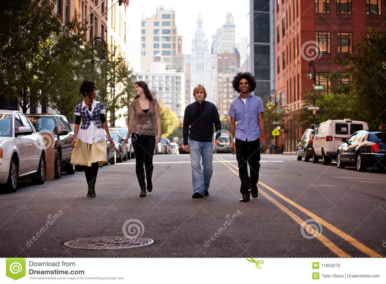 Young People in City