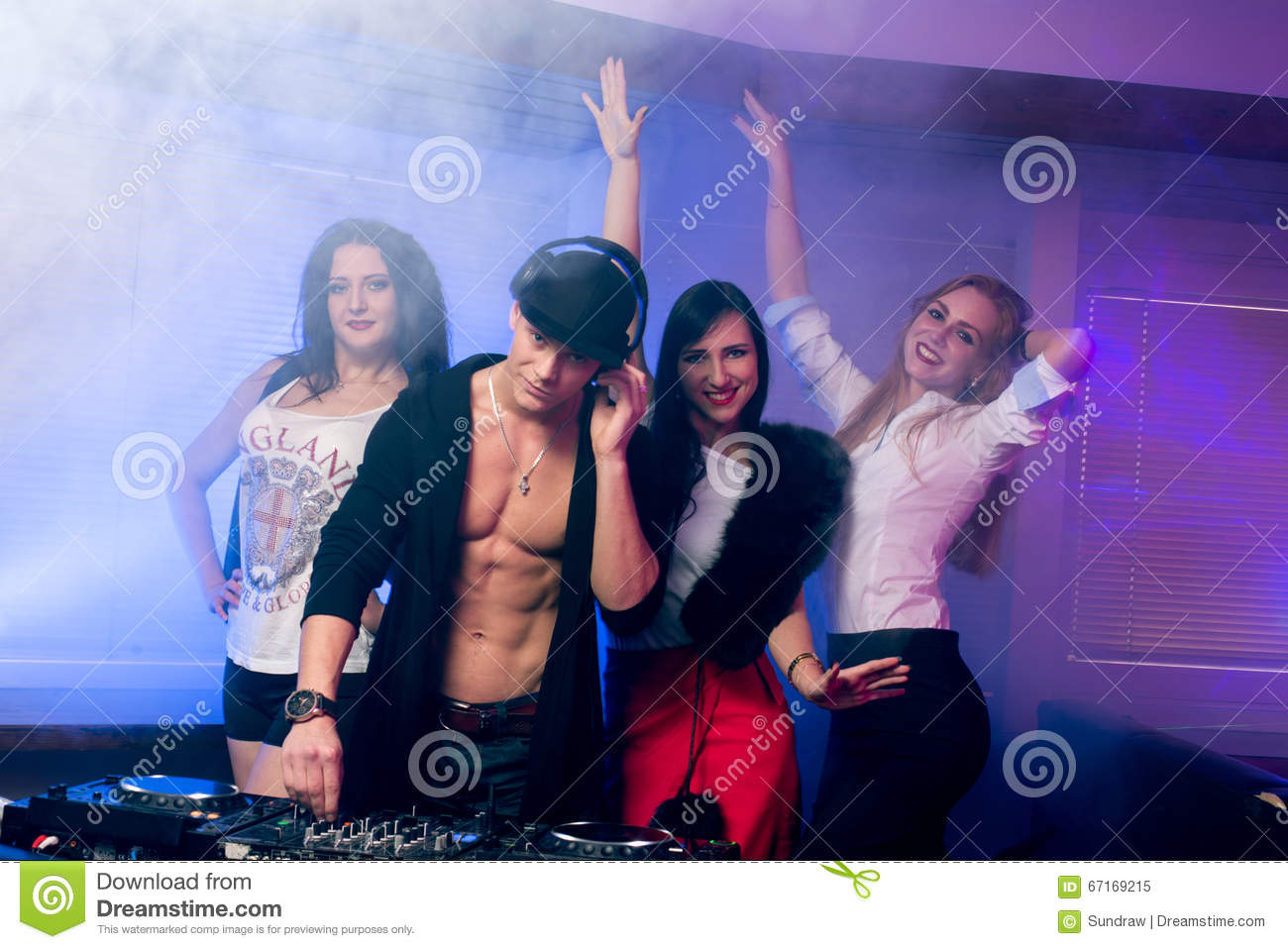 People In Club Or Bar Drinking Champagne Royalty Free ...  |People Having Fun In A Club