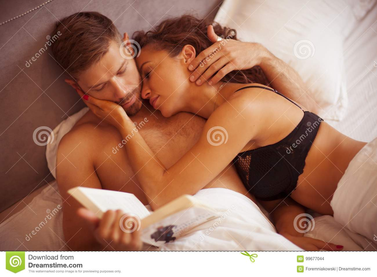 Couple sex making out