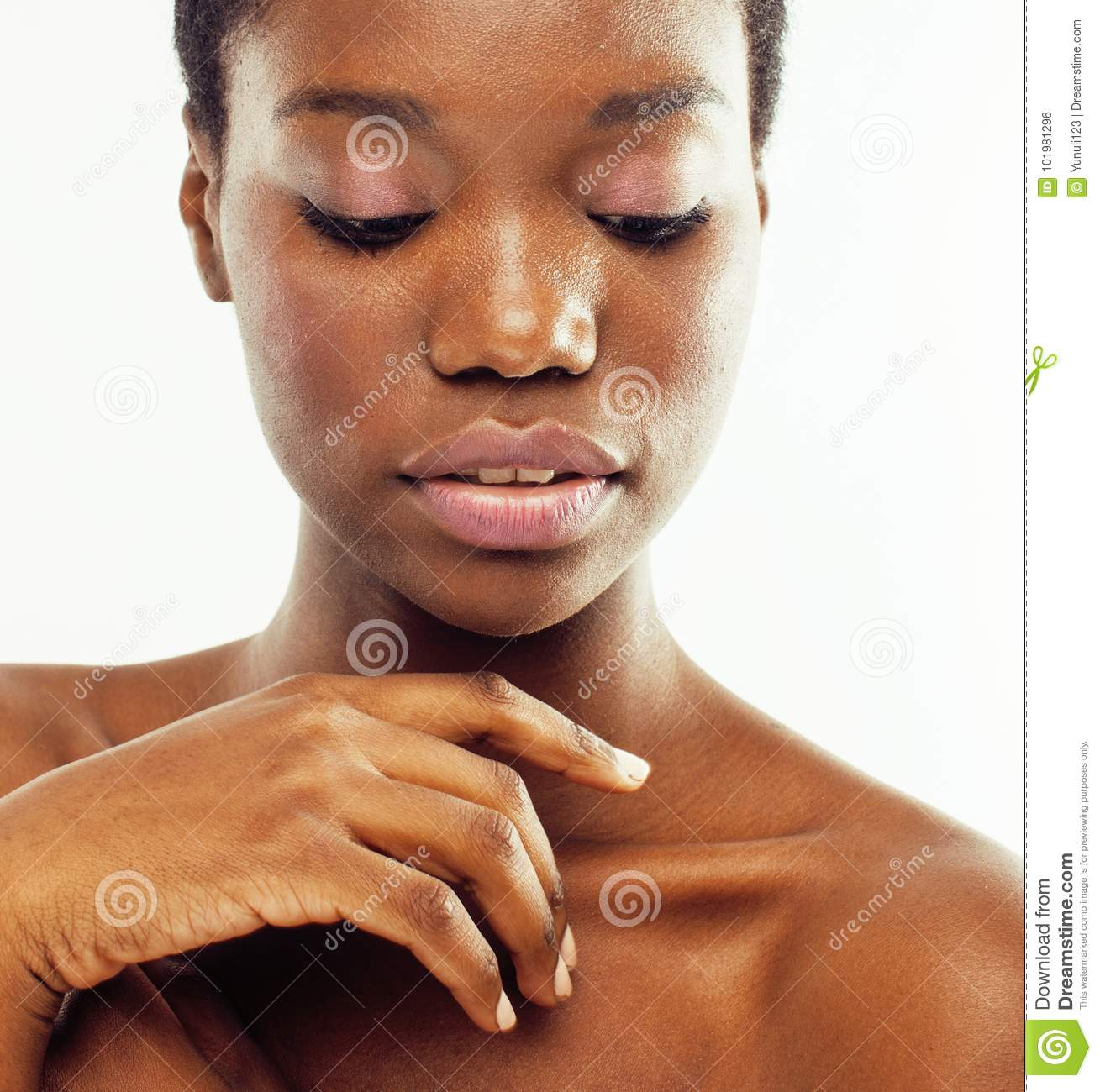 Good idea Naked female african americans