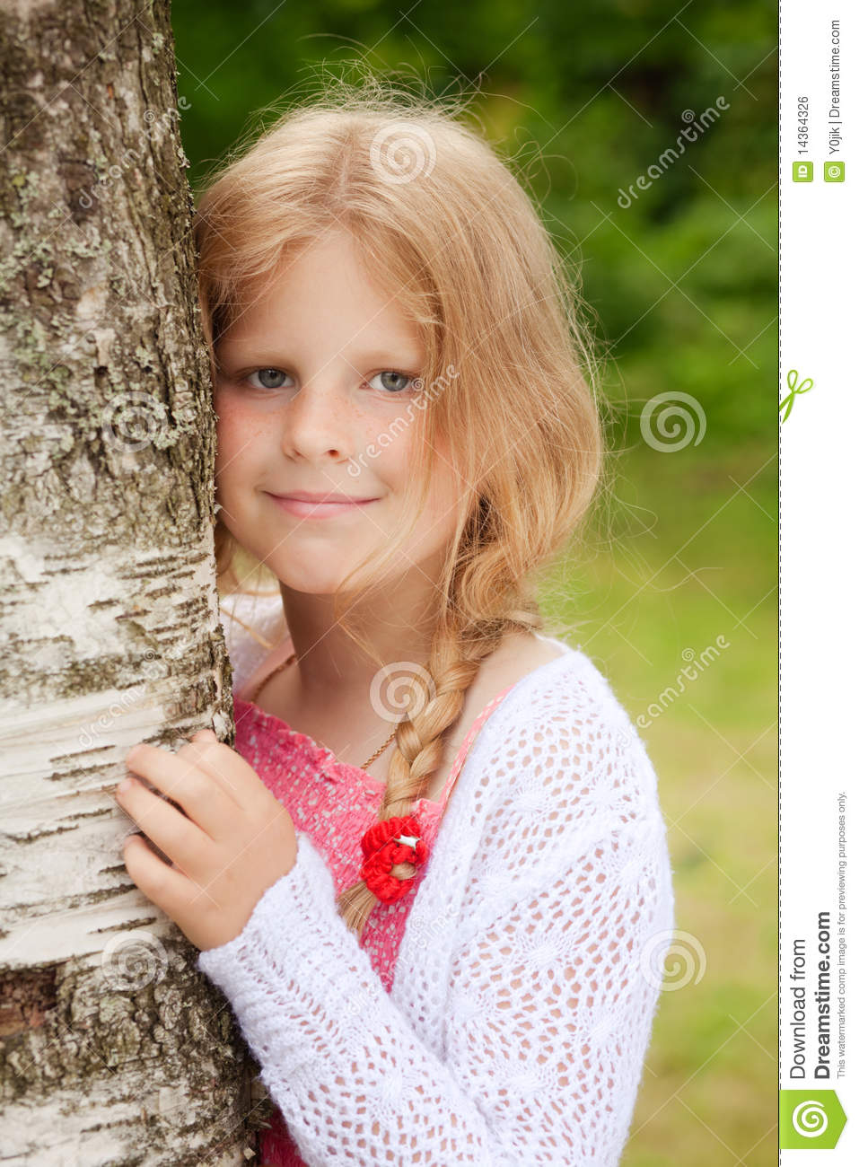 Young pretty girl portrait stock photo. Image of portrait ...