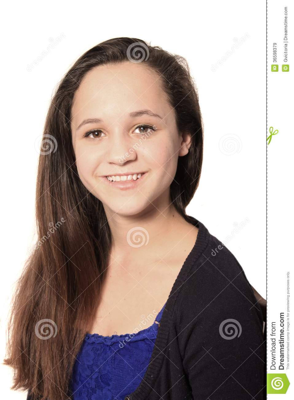 Young pretty teen girl royalty free stock images image 36598379