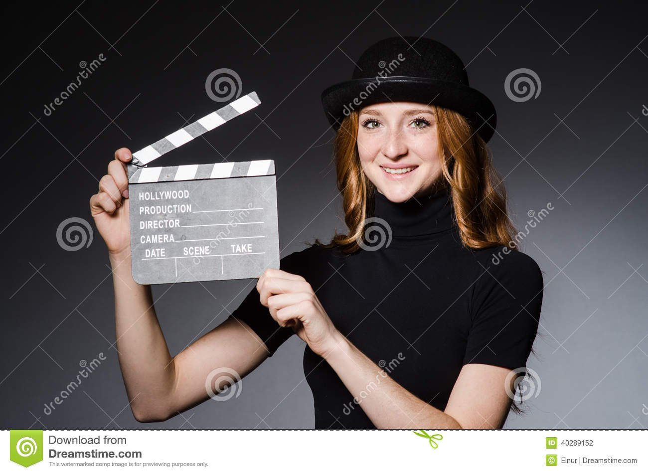 Young redhead girl movie