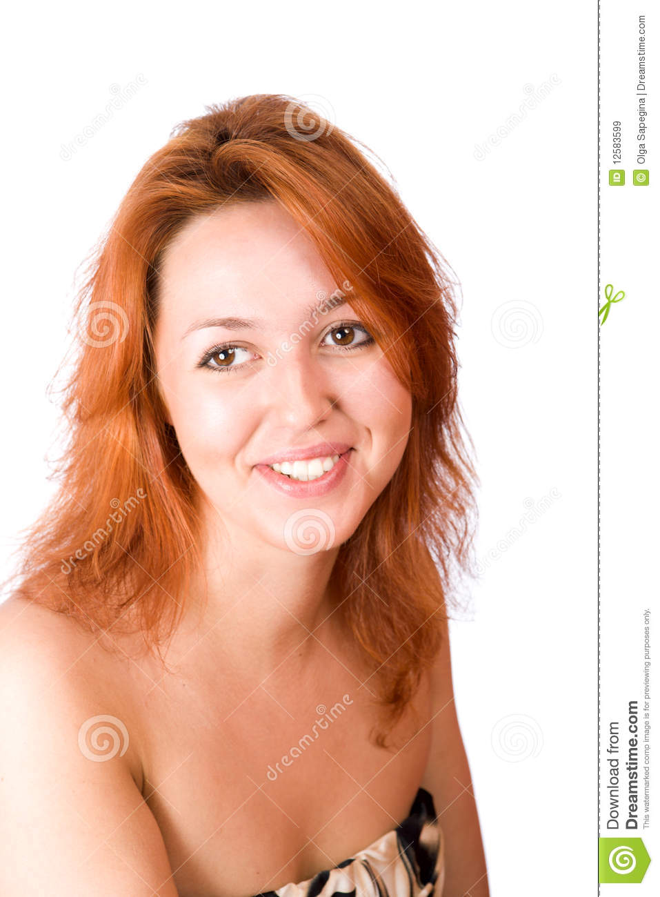 Young Redhead Woman Royalty Free Stock Images Image