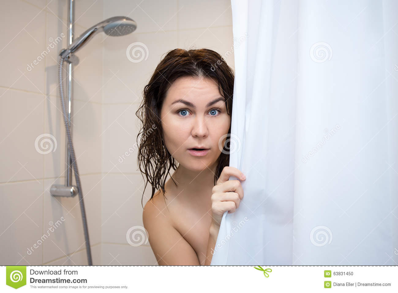 Opinion nude behind shower curtain remarkable