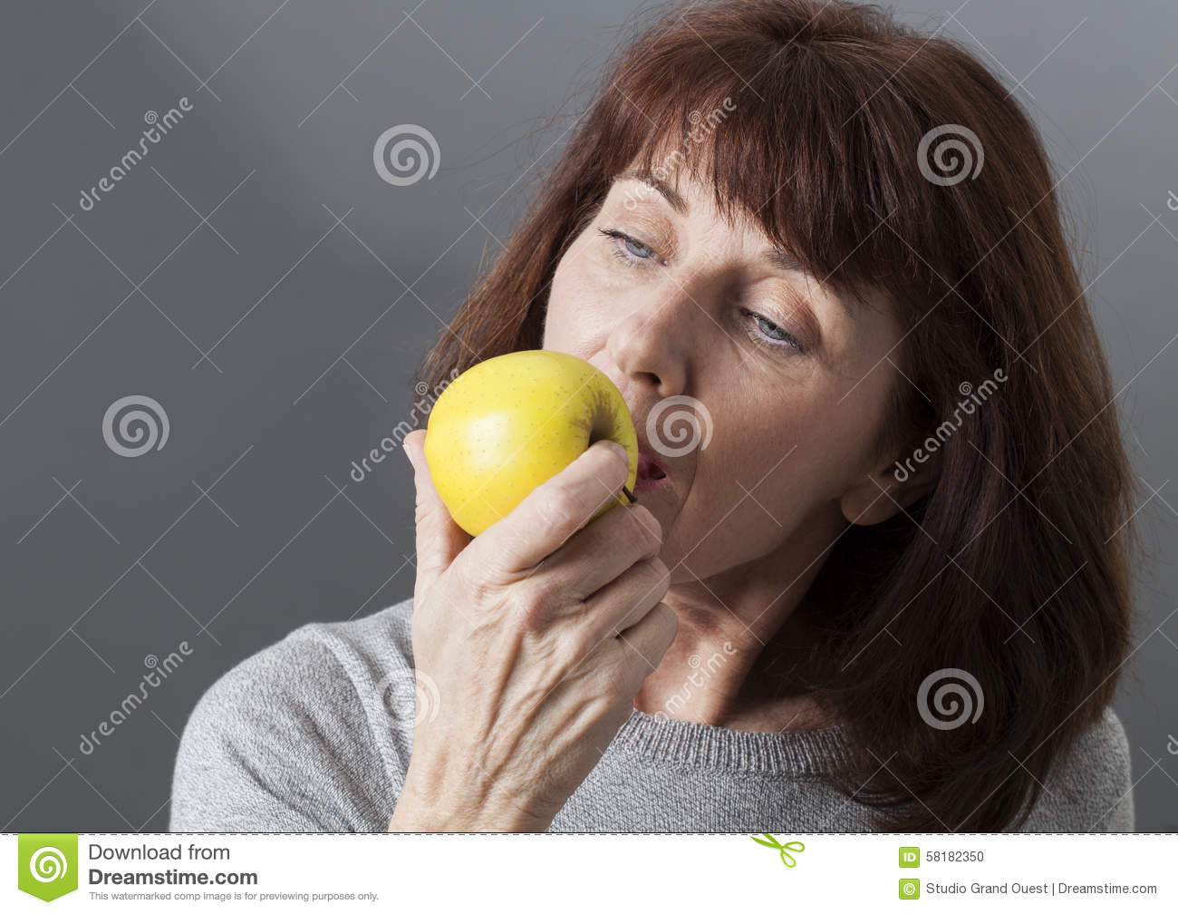Mature woman eats young woman consider, that