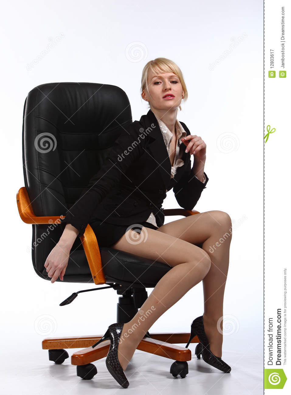 The Young Sexy Business Woman Royalty Free Stock Photography Image 12803617