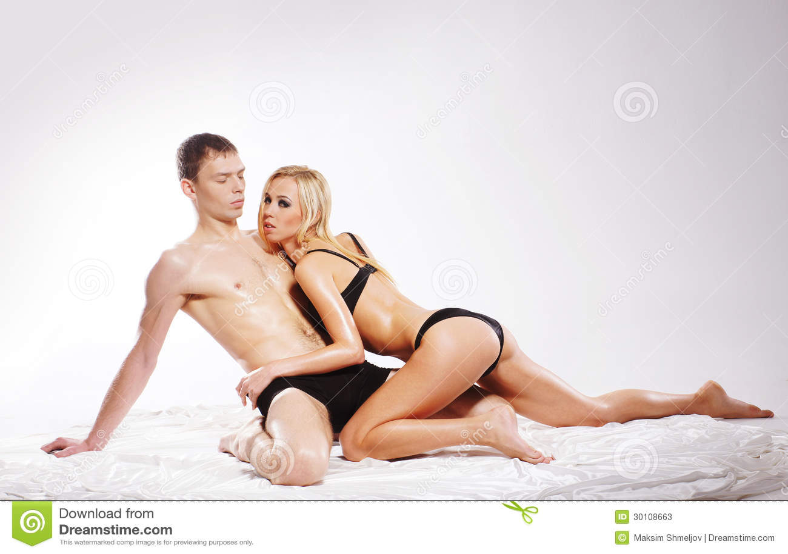 Erotic dream of