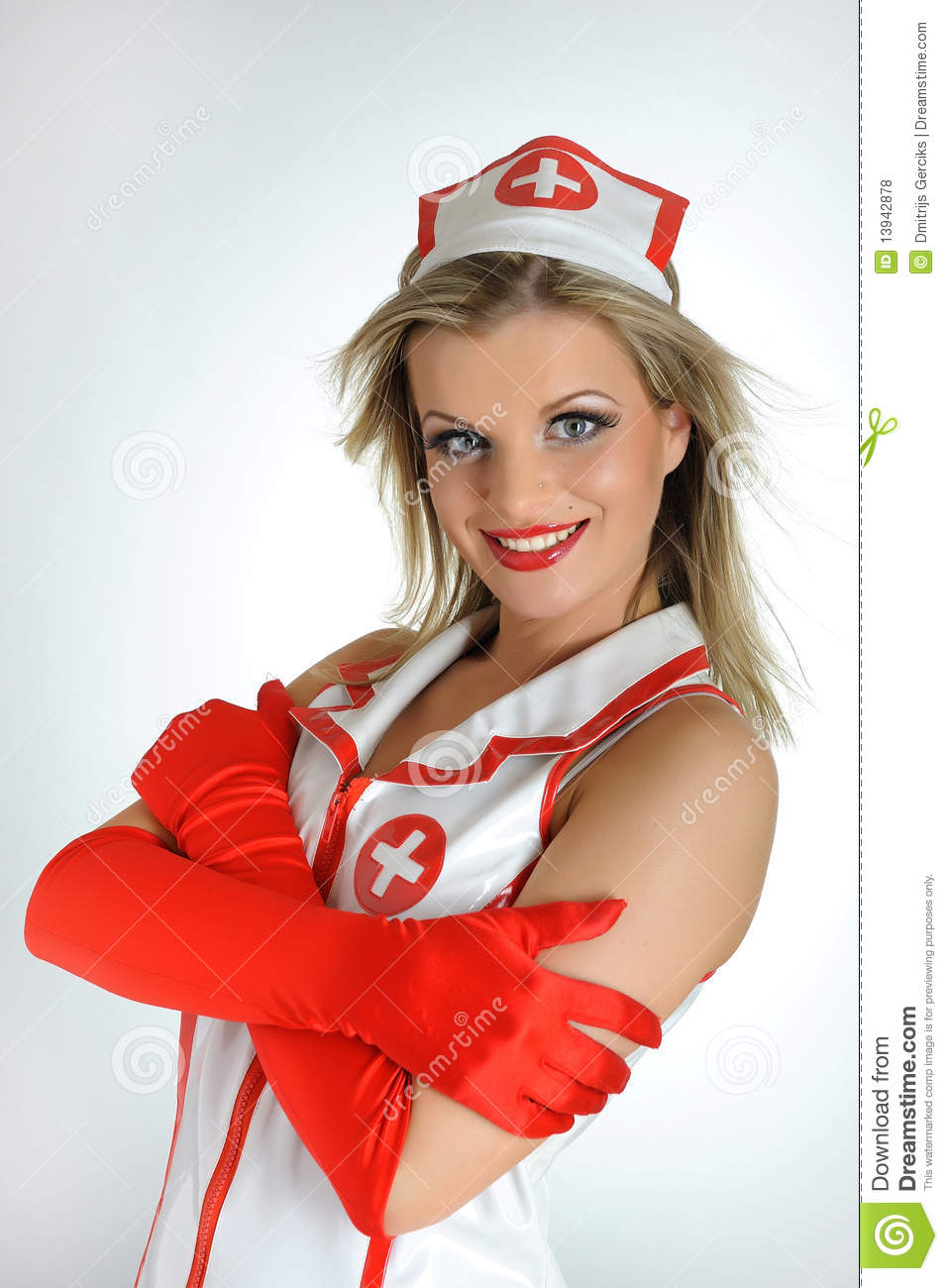 Hot young naked girl nurse-9458