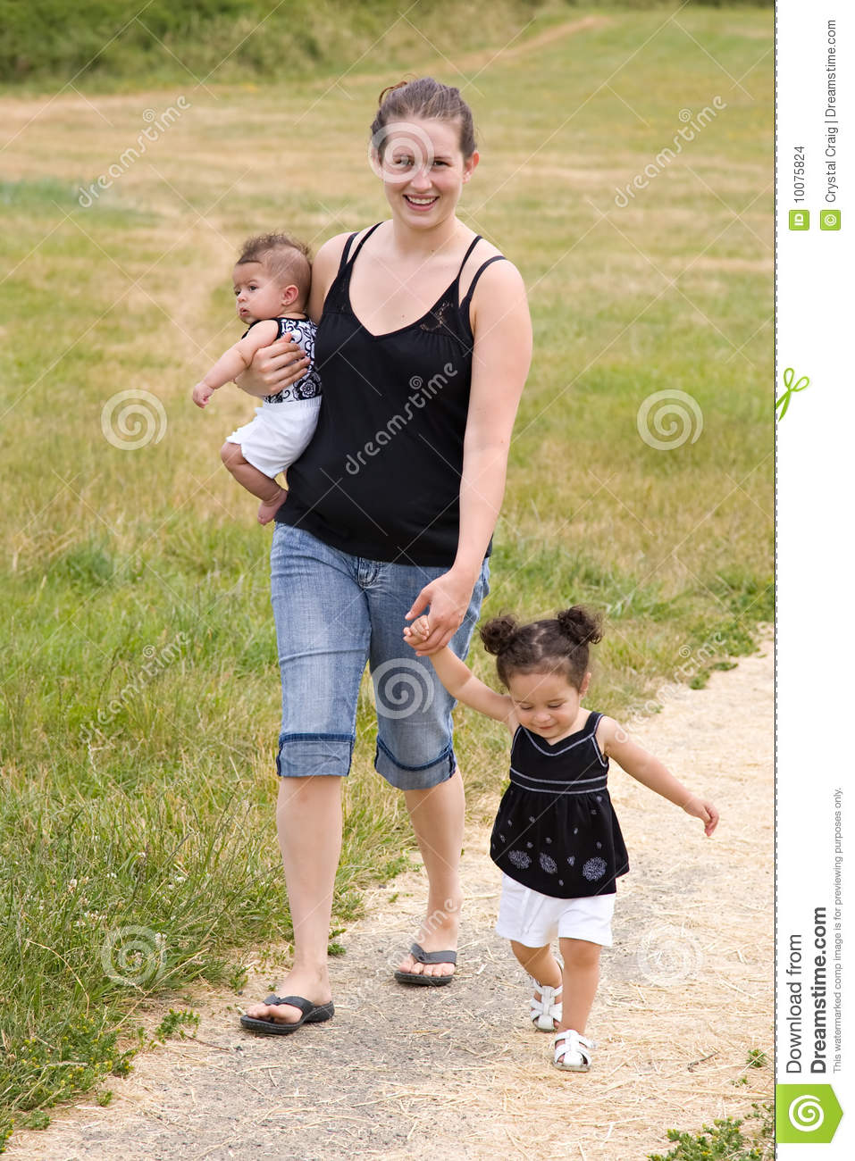 image Young single mother trying to get her 2nd baby