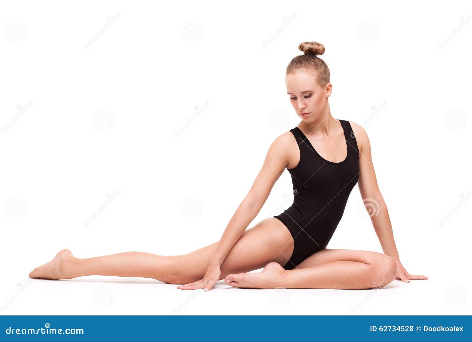 black naked female body